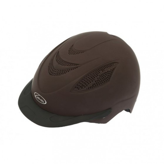 Bombe casque Ventex Lami-Cell enfants Marron
