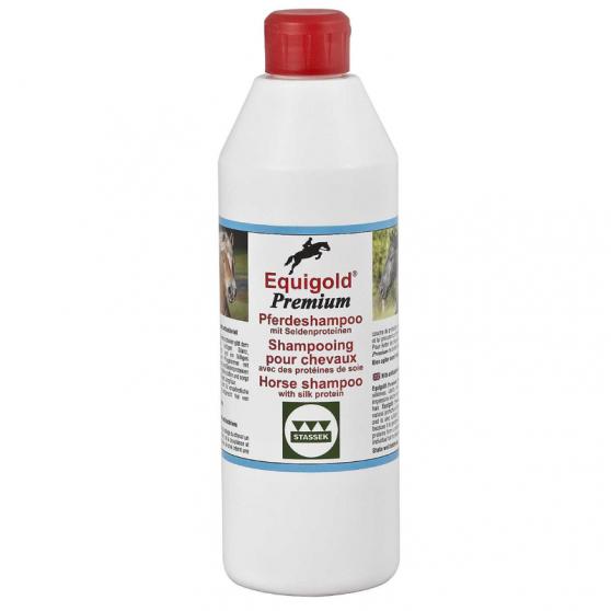 Equigold Prémium shampooing pour chevaux antibactériens