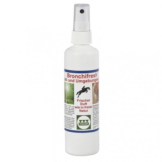 Bronchifresh Aérosol pour l'environnement du cheval