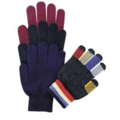 Gants tricoté magique, avec picots anti-dérapants.