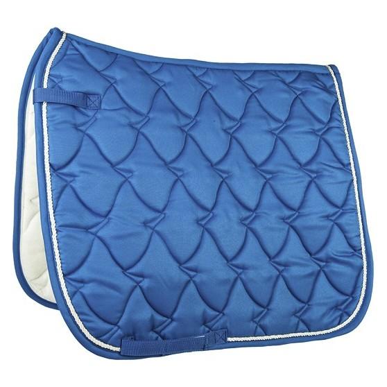 Tapis de selle Cassandra Topcolor mixte ou dressage Bleu