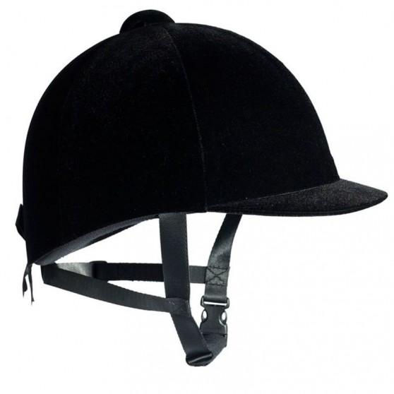 Bombe casque velours norme EN 1384