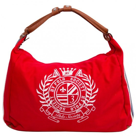HV Polo Sac San Nikolas Canvas HV-Polo Scarlet