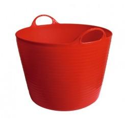 Seau flexible d'écurie Flexiseau à poignées 28 litres