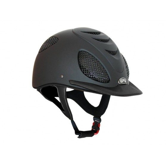 Casque GPA Speed'Air Leather cuir Bombe d'équitation