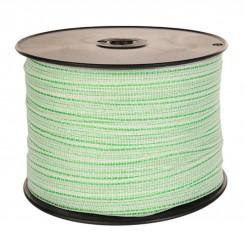 Ruban électrique 20 mm 4 fils conducteur inox 0.16 mm 200 mètres premier prix