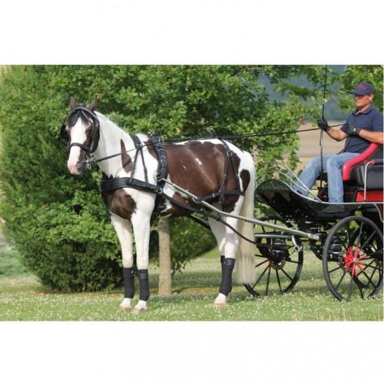 Harnais d'attelage Conty poney pur-sang cheval trait