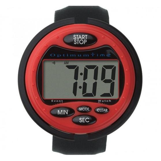 Chronomètre Optimum Time Rouge