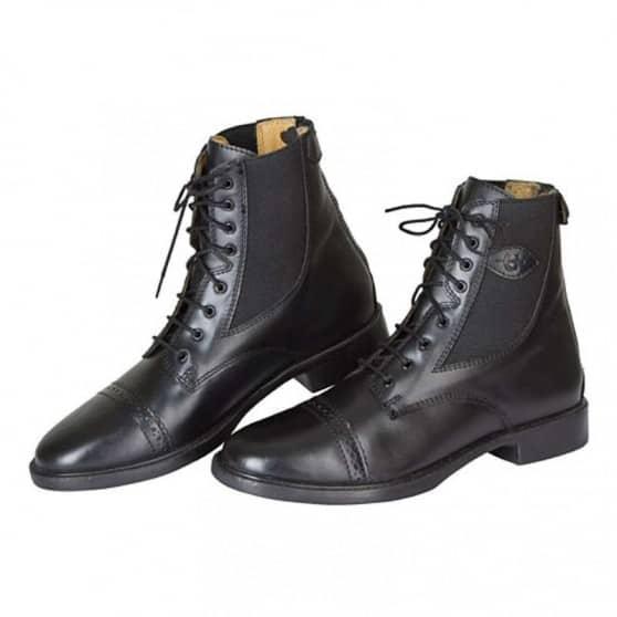 Boots d'équitation à lacets et fermeture éclair  35-45