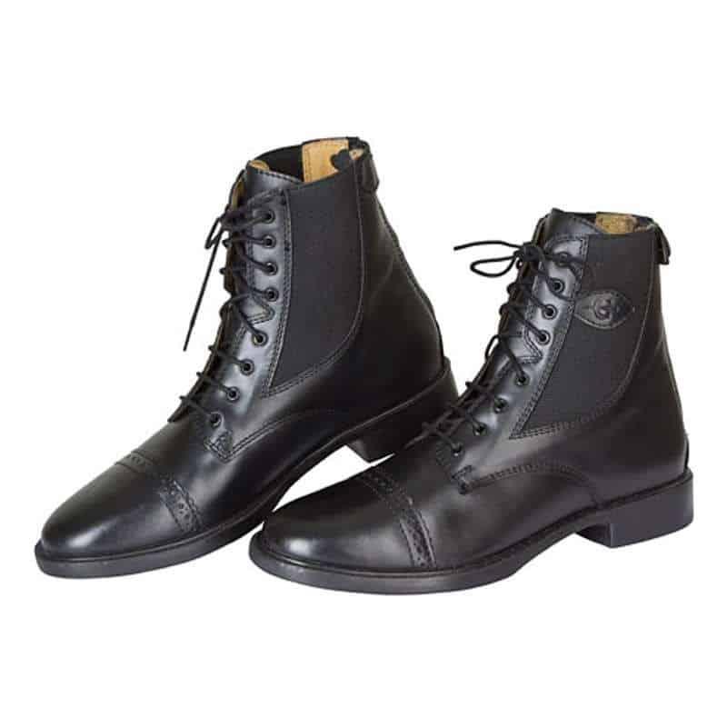 Boots d'équitation à lacets et fermeture éclair 35 45