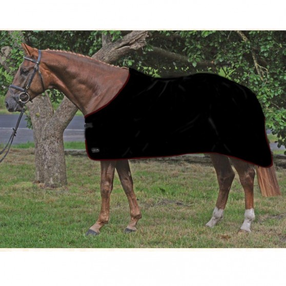 Chemise séchante Alaska de HKM shetland poney cheval Noir