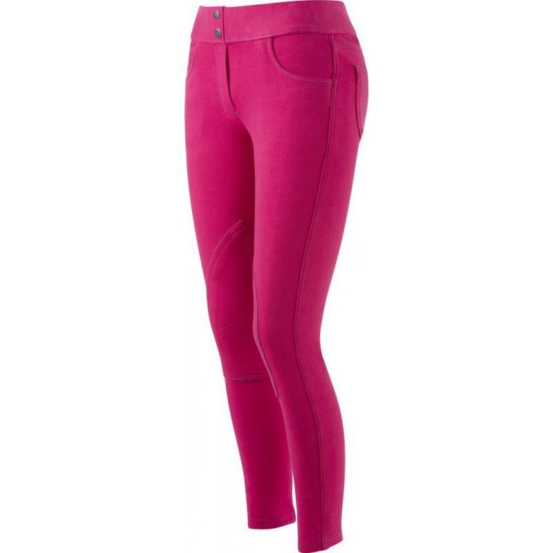 ... Pantalon d équitation Equi-Thème Pull-on femme Fuchsia ... b7e4ee8cbd1