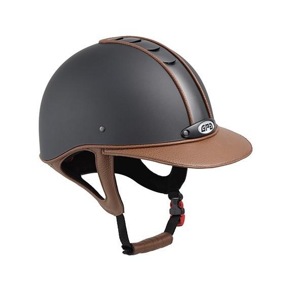 Casque GPA Titium Leather cuir