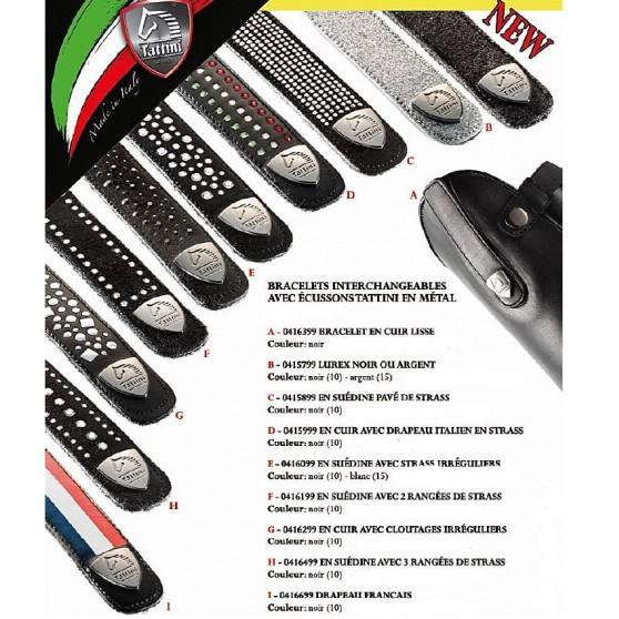 Bracelets interchangeables pour bottes Retriever Tattini