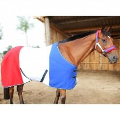 Chemise polaire France sangles croisées DMH-Equitation