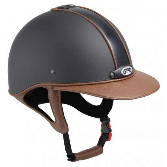 Casque GPA Classic Leather cuir
