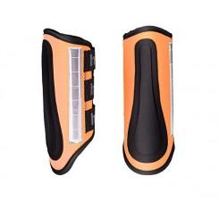 Guêtres de sécurité orange fluo