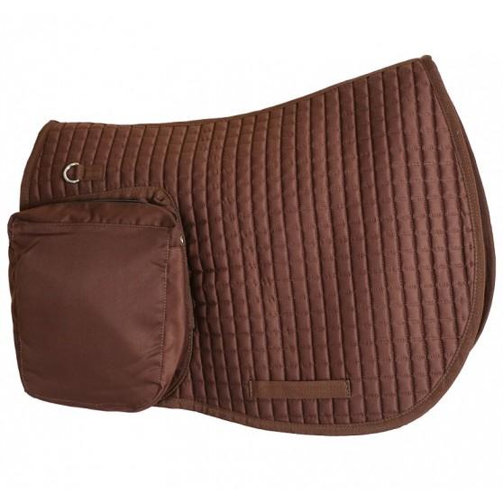 Chabraque de randonné avec sacoche marron
