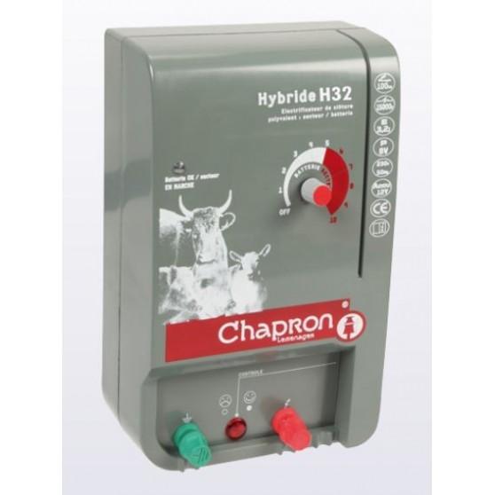 Electrificateur cloture électrique Hybride H32 3.2 joules Chapron