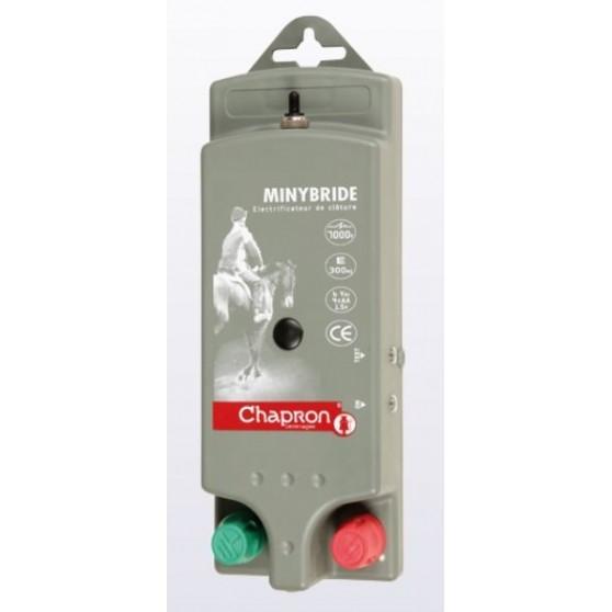 Electrificateur cloture électrique Minybride 0.6 joules Chapron