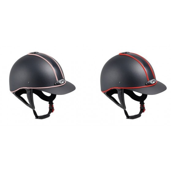 Casque GPA Classic Piping cuir