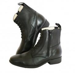 Boots cuir de vachette pleine peau Ferreira a Nova DMH fabriquées au Portugal