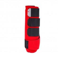 Horze Protège-tendons ProSoft rouge