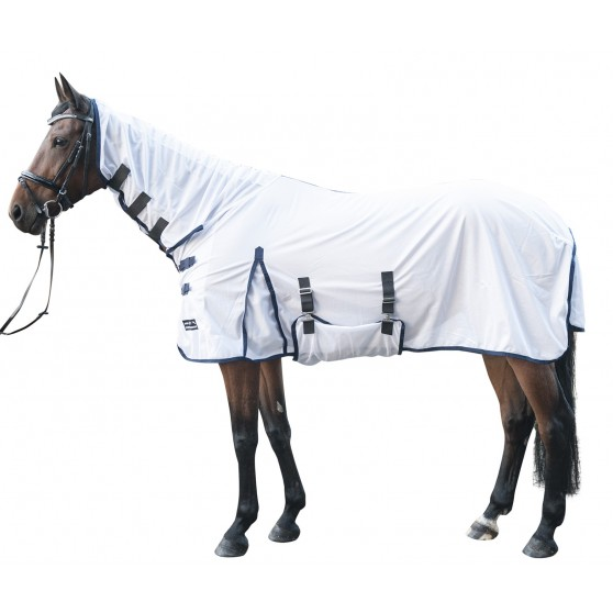 chemise-integrale-anti-mouches-lyon-hkm Blanc