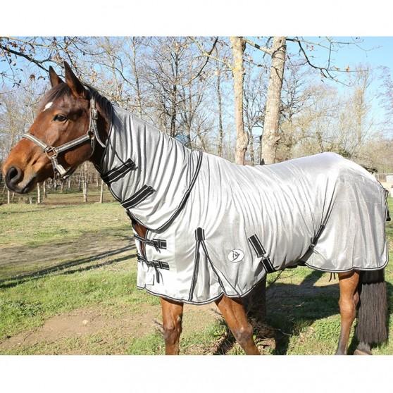 Chemise anti-mouches avec couvre encolure intégré