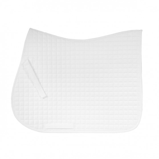 Horze Tapis de selle River allround saddle Blanc