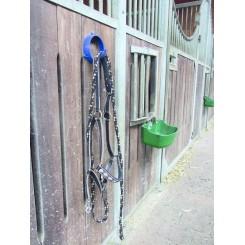 Support d'écurie pour licol et accessoires