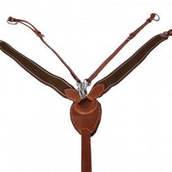Collier de chasse et martingale à anneaux DMH Equitation