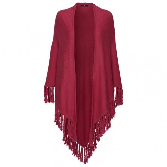 Gilet HV-Polo Châle tricoté