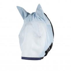 Masque intégral bonnet anti-mouches poney au trait avec oreilles Horze