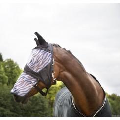 Masque anti-mouches protège nez amovible Zebra Horze