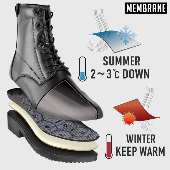 Boots d'équitation à textile intelligent 3D DMH-Equitation Majestic