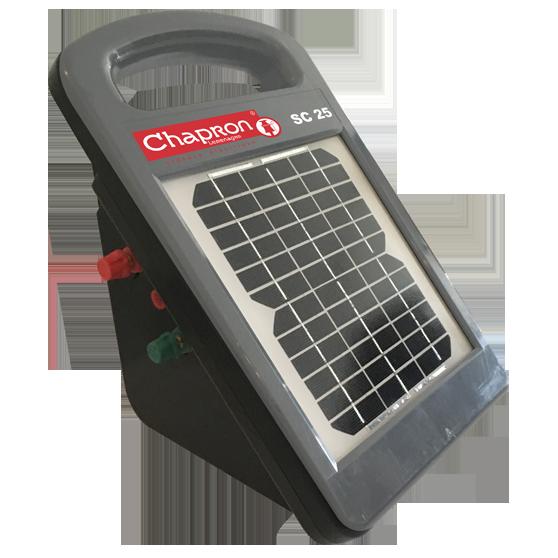 Electrificateur Solaire pour cloture SC25 Chapron
