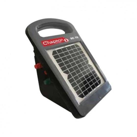 Electrificateur Solaire pour cloture SC70 Chapron