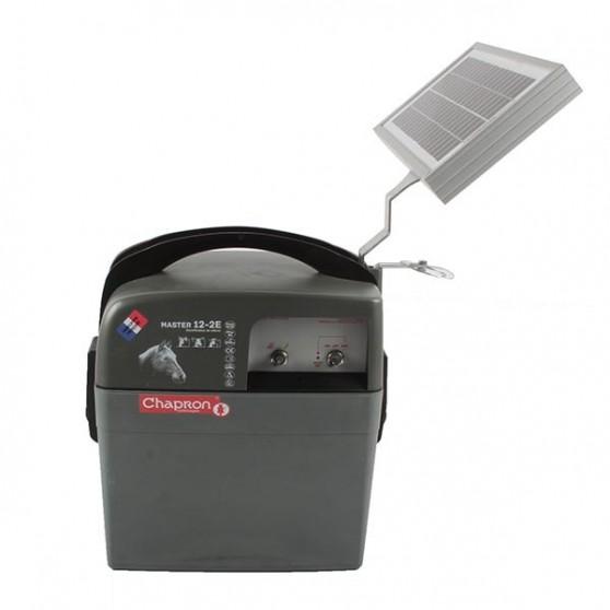 Electrificateur pour cloture Master 12.2 solaire 5W Chapron