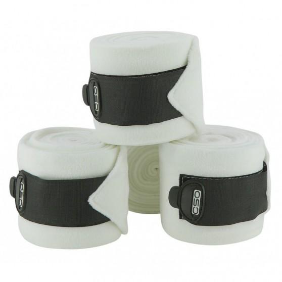 Bandes de polo C.S.O. ajustable Blanc