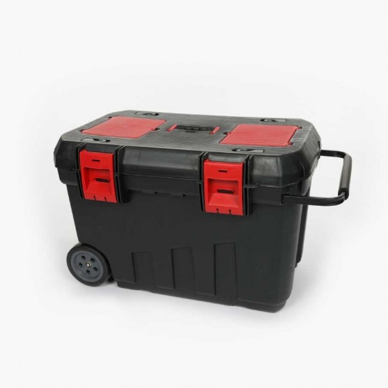 Coffre de selle avec roue LAMI-CELL Noir