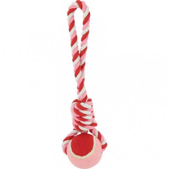 Ballon/corde 42 x 10 cm  DIEGO & LOUNA Rose