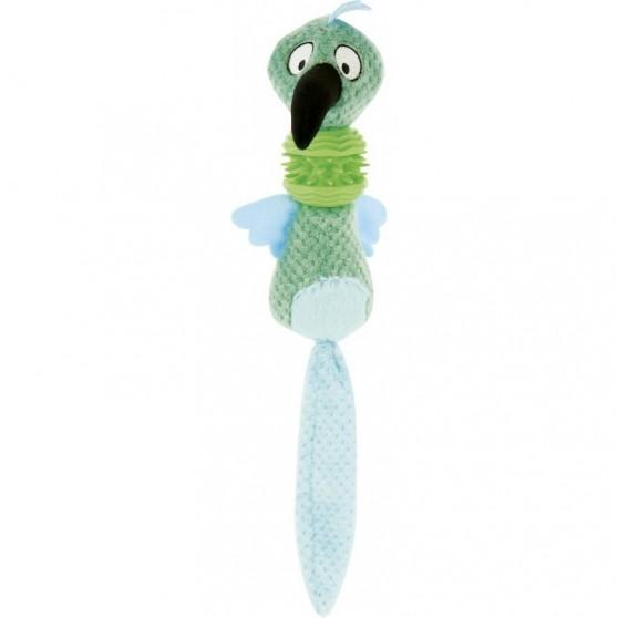 Peluche oiseau 50 x 14 cm DIEGO & LOUNA Bleu