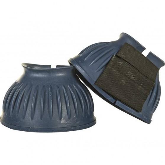 Cloches en caoutchouc avec fermeture Velcro,1 paire - HKM