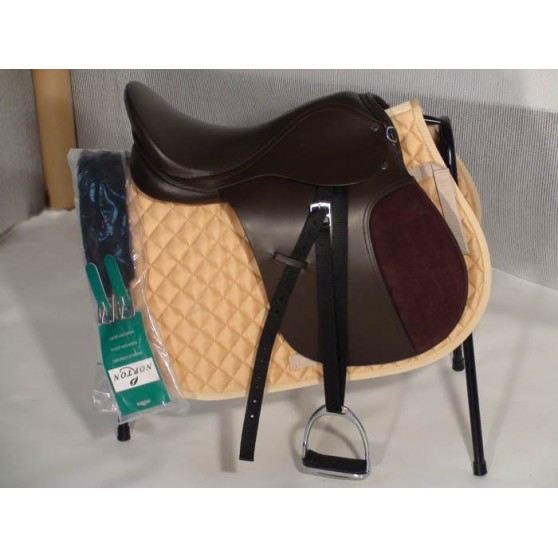 selle-club-mixte-shetland-poney-cheval