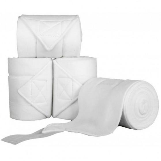 HKM Bandes de polo Topcolor Blanc
