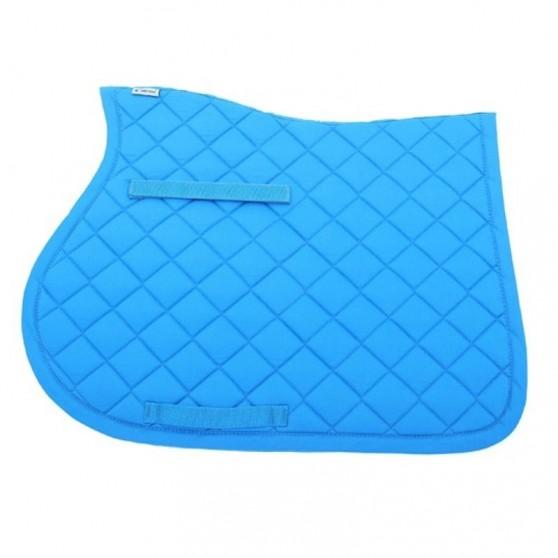 Tapis de selle dressage Basic Lami-Cell poney Turquoise