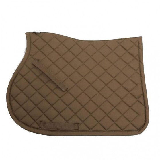Tapis de selle dressage Basic Lami-Cell cheval Taupe