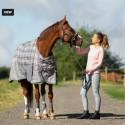 Collant d'équitation fond silicone Horze Leigh tour de taille ergonomique