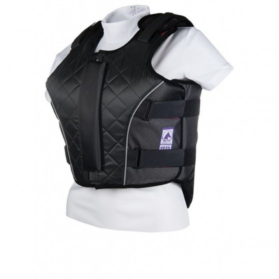 Gilet de protection Enfants -Flex Pro- HKM Noir